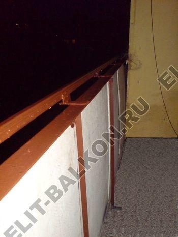 Фото остекления балконов и лоджий в Москве - Укрепление балконов. Ремонт балкона