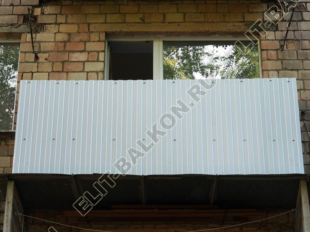 ukreplenie balkona metallom s obvjazkoj po perimetru vneshnjaja otdelka 43 - Фото ремонта и укрепления балконов и лоджий