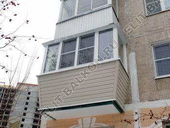 ukreplenie balkona novyj parapet PVH osteklenie s vynosom 13 387x291 - Внешняя отделка балкона сайдингом и профнастилом