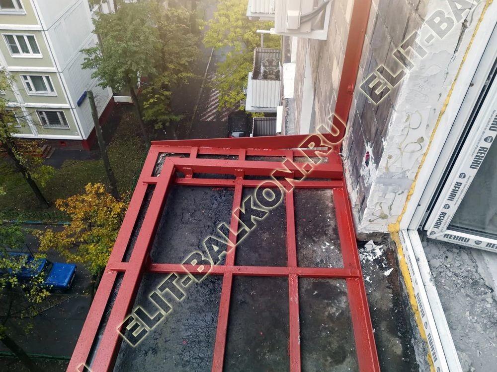 ukreplenie balkonnoj plity pod osteklenie ot pola do potolka 8 - Фото ремонта и укрепления балконов и лоджий