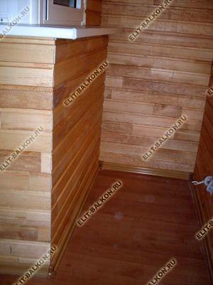 vagonkaderev51 - Отделка балкона и лоджии деревянной вагонкой