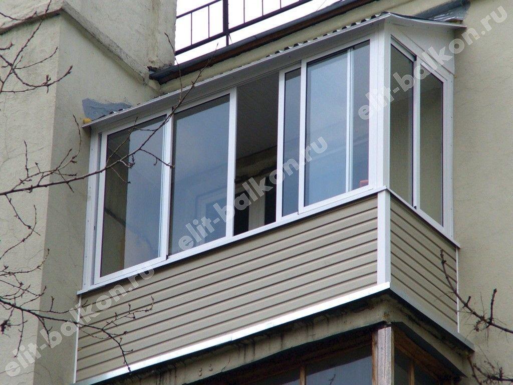 vneshnyaya otdelka11 - Внешняя отделка балконов и лоджий в Москве