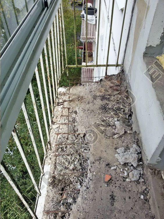 10 - Укрепление балконов и лоджий