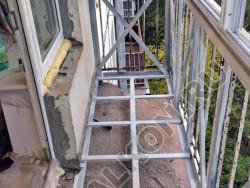 Нестандартные работы на балконе