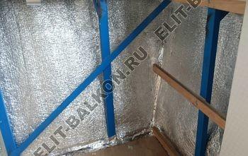 Фото остекления одного балкона № 10
