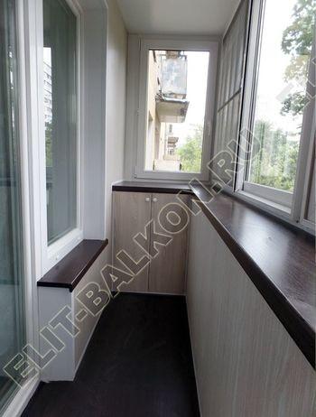 balkon 85 387x291 - Шкаф на балкон с фасадами из ЛДСП