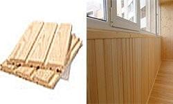 Внутренняя отделка балконов и лоджий под ключ