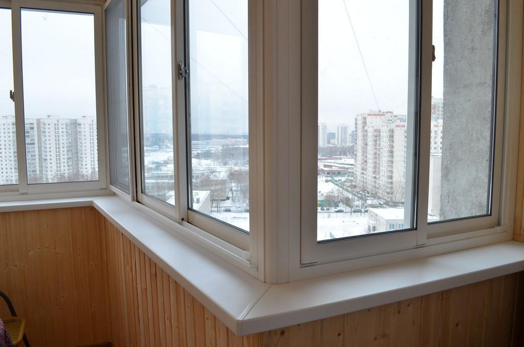 Отделка балкона в рассрочку