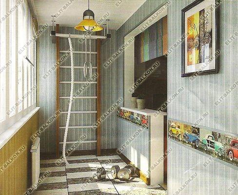 panel58 - Отделка балкона панелями ПВХ