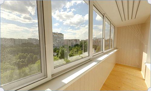 polu1 - Полутеплое остекление балконов и лоджий