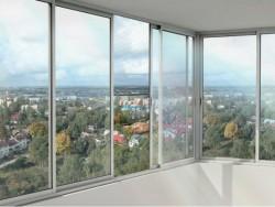 Остекление балконов и лоджий Provedal