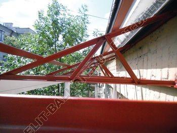 roof 10 250x188 - Каркас крыши балкона
