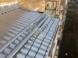 Обогрев крыши балкона
