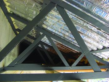 roof 45 387x291 - Каркас крыши балкона