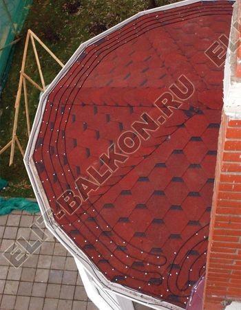 Мягкая кровля на крыше балкона