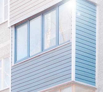 saiding - Внешняя отделка балкона сайдингом