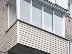 saiding1 250x188 - Внешняя отделка балкона сайдингом