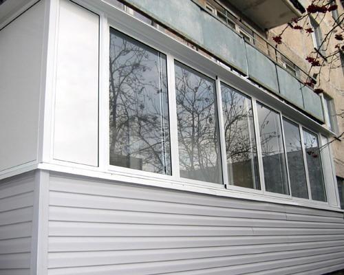 saiding2 - Внешняя отделка балкона сайдингом