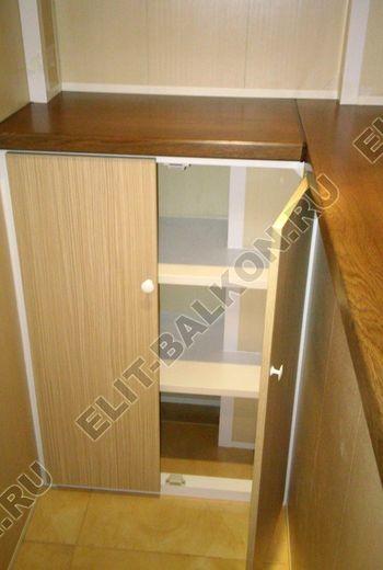 skaf235 250x188 - Шкаф на балкон с фасадами из ЛДСП