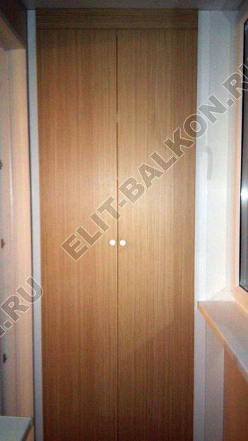 skaf240 250x188 - Шкаф на балкон с фасадами из ЛДСП