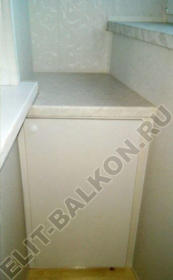 skaf263 250x188 - Шкаф на балкон с фасадами из ЛДСП