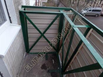 ukreplenie balkona novyj parapet PVH osteklenie s vynosom 3 387x291 - Фото кронштейнов выноса