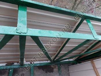 ukreplenie balkona novyj parapet PVH osteklenie s vynosom 4 387x291 - Фото кронштейнов выноса