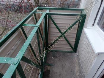 ukreplenie balkona novyj parapet PVH osteklenie s vynosom 6 387x291 - Фото кронштейнов выноса