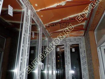 ukreplenie balkona s vynosom i falshkrovlja24 387x291 - Каркас крыши балкона