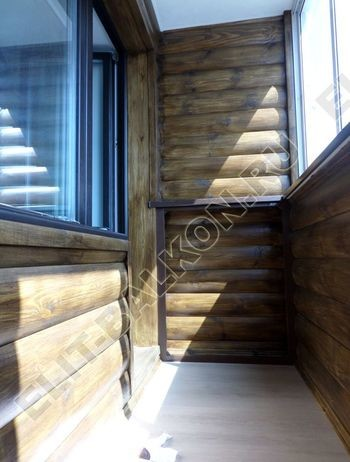 otd wood5 250x188 - Внутренняя отделка балкона деревом