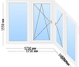 tep ws 2 - Теплое остекление балкона и лоджии