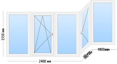 tep ws 4 - Теплое остекление балкона и лоджии