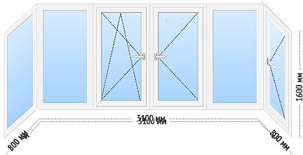 tep ws 6 - Теплое остекление балкона и лоджии