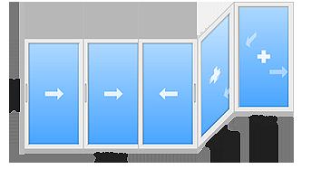 window 10 - Холодное остекление балконов и лоджий