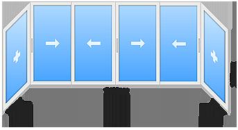 window 7 - Холодное остекление балконов и лоджий