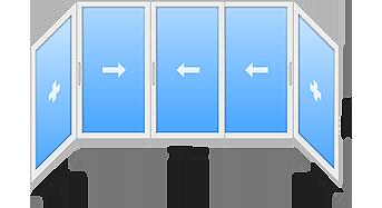 window 8 - Холодное остекление балконов и лоджий