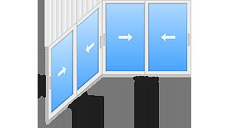 window 9 - Холодное остекление балконов и лоджий