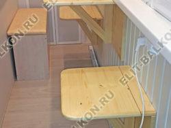 skaf258 250x188 - Шкаф на балкон распашной деревянный