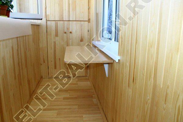 wood 2 - Шкаф на балкон распашной деревянный