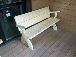wood 4 250x188 - Шкаф на балкон распашной деревянный
