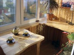 wood 6 250x188 - Шкаф на балкон распашной деревянный
