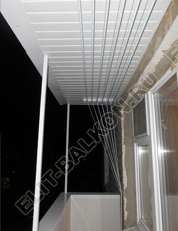 Ремонт балкона и отделка без остекления