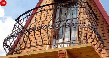 Фото кованого парапета