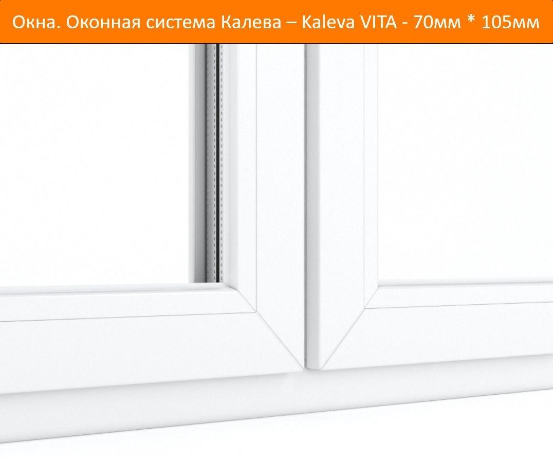 Окно Kaleva Vita – новый стандарт вашей жизни!