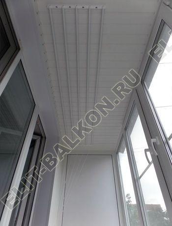 Фото остекления одного балкона № 3