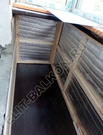 Фото остекления одного балкона № 1