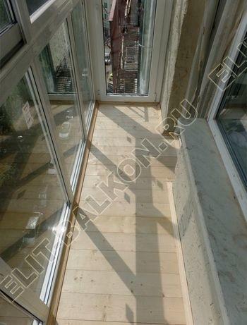 Фото остекления одного балкона № 2