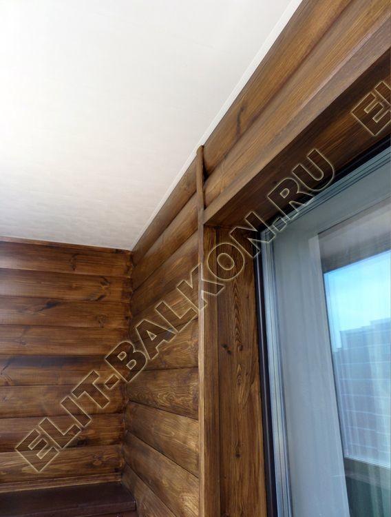 Отделка балкона блок – хаусом: позвольте себе роскошь!
