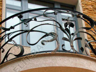 Цены на кованные парапеты на балконы