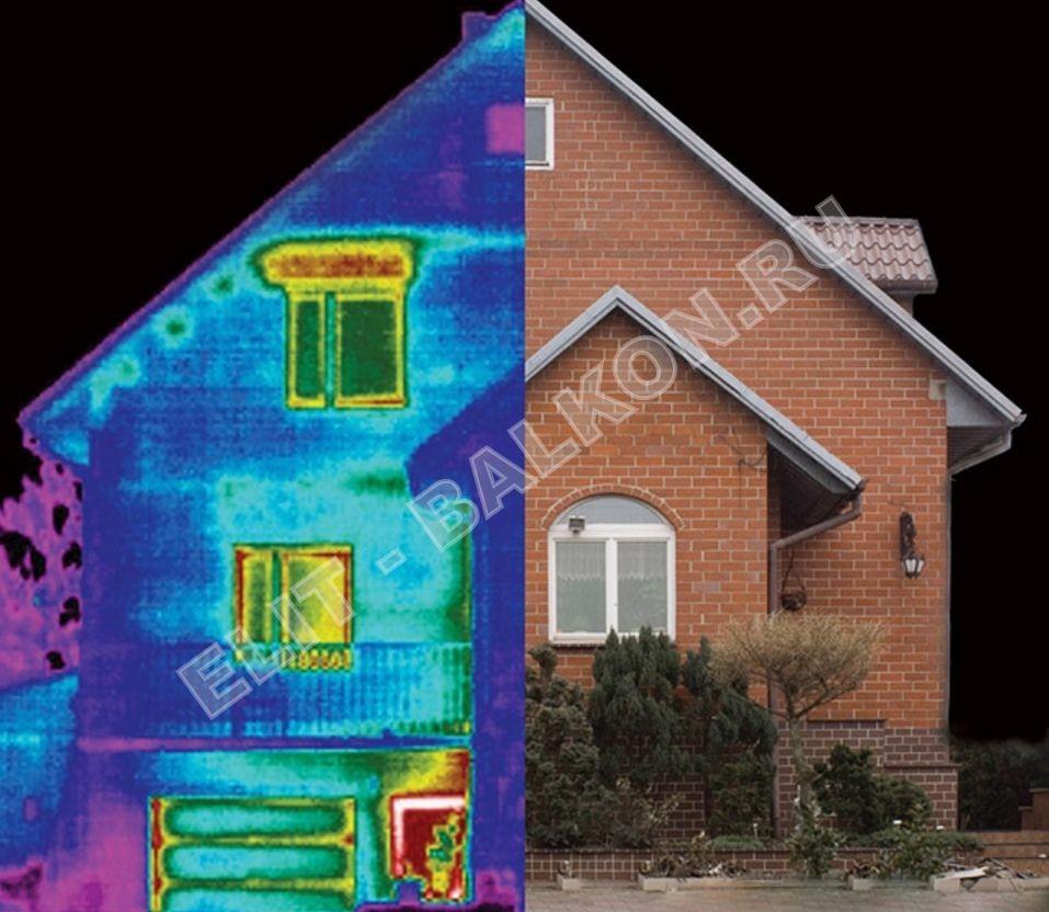 Обследование домов загородных тепловизором